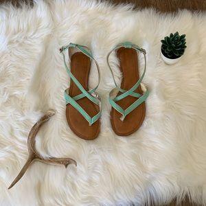 Merona strappy sandals, size 7.5